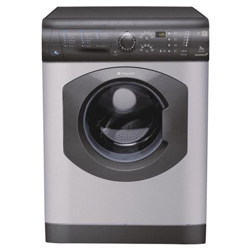 Hotpoint Aquarius Washer Dryer,  WDF740GC, 7KG Load, Graphite