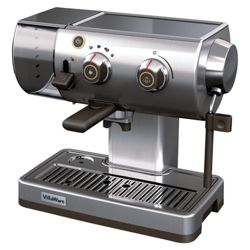 Villaware BVVLESSL01 1.5 Espresso Coffee Machine - Stainless Steel