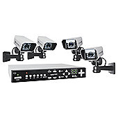 Byron Colour 320Gb Quad CCTV System Dvr320Set