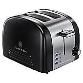 Russell Hobbs 18046 Ebony 2 Slice Toaster - Black