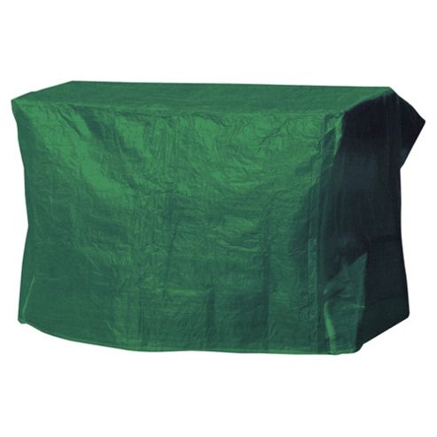 Garden Furniture Cover Swing Bench, Green
