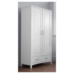 Stockholm Double Wardrobe, White