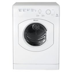 Hotpoint TVM572P Vented Tumble Dryer, 7kg Load, C Energy Rating. White