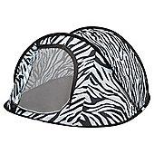 Tesco 2-Person Pop-Up Tent, Zebra