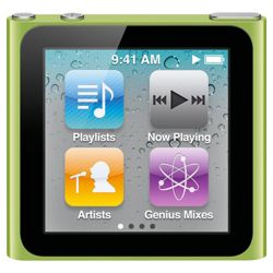 Apple MC526QB/A iPod Nano 16GB 6th Generation - Green