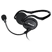 Microsoft Lifechat LX-2000 Stereo 3.5mm Behind the Head PC Headset & Microphone