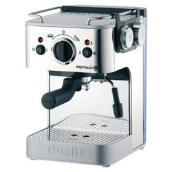 Dualit 842002  1.5 Espressivo Coffee Machine - Steel