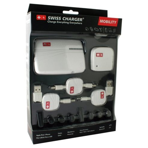 Swiss Hitech white universal battery charger