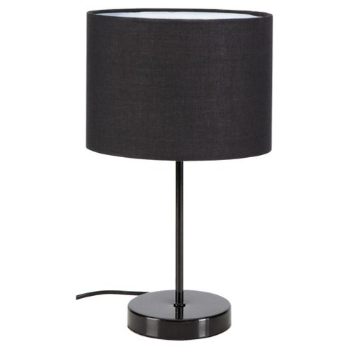 Tesco Lighting Funky Matchstick Table Lamp Black