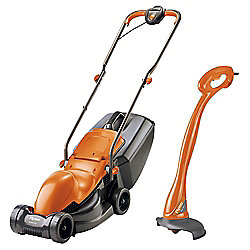 Flymo Easimo 900W Electric Lawn Mower & Mini Grass Trimmer Twin Set