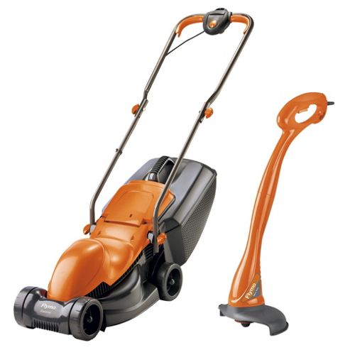 Flymo Easimo Lawnmower & Mini Grass Trimmer Twin Set