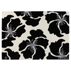 Tesco Rugs Poppy Rug 120x170cm Black