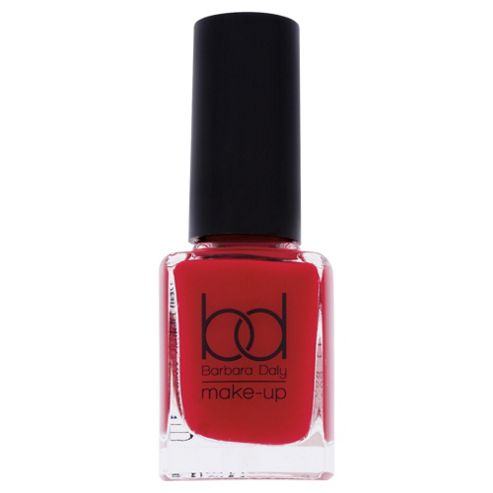Barbara Daly Nail Polish Rose Red 11ml