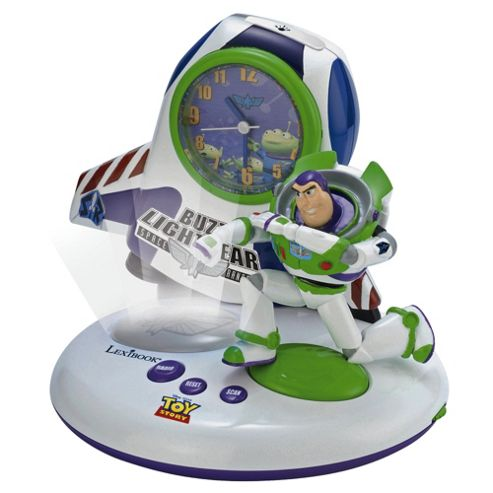 Toy Story Analoge Alarm Clock Radio
