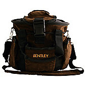 Bentley Traditional Horse Grooming Bag, Suede