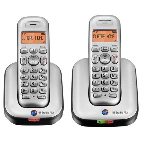 BT Studio 4100 Plus Twin Cordless Phone