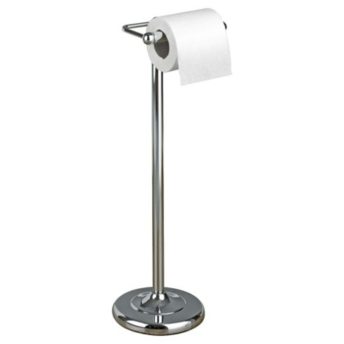 Tesco Chrome Free-Standing Toilet Roll Holder