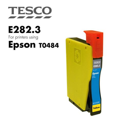 Tesco T0484 Yellow Printer Ink Cartridge (for Epson T 0484 Yellow )