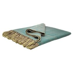 F&F Home Allya Throw Teal 130X180