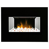 Dimplex CLV20B Clova Black Wall Hung Fire