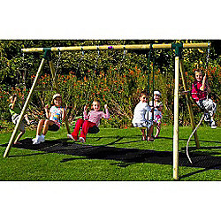 Wooden garden swing seat plans diy woodworking projects for Diy adult swing set