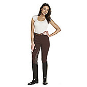 Harry Hall Ladies' Nidd Jodhpurs Chocolate 26