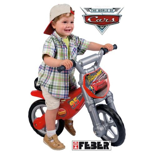 Feber Famosa Disney Cars Speed Motorbike Ride-On