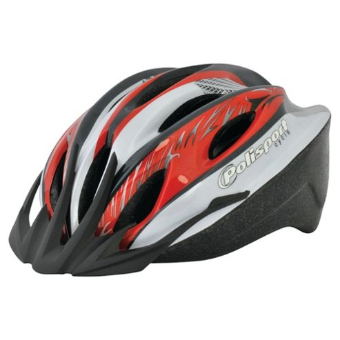 Polisport Myth Helmet 57-61cm Grey & Red