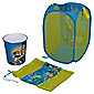 Disney Pixar Toy Story Storage Set: Pop Up Tidy, Drawstring Bag & Plastic Bin