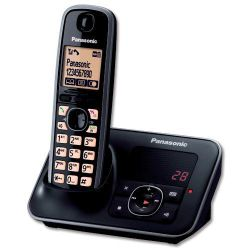 Panasonic KXTG6621 Digital Cordless Phone with Answer Machine