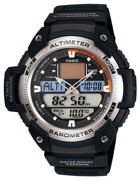 Casio Computer SGW-400H-1BVER Pro Tek Watch