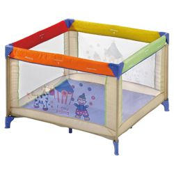 Hauck Square Travel Cot, Circus
