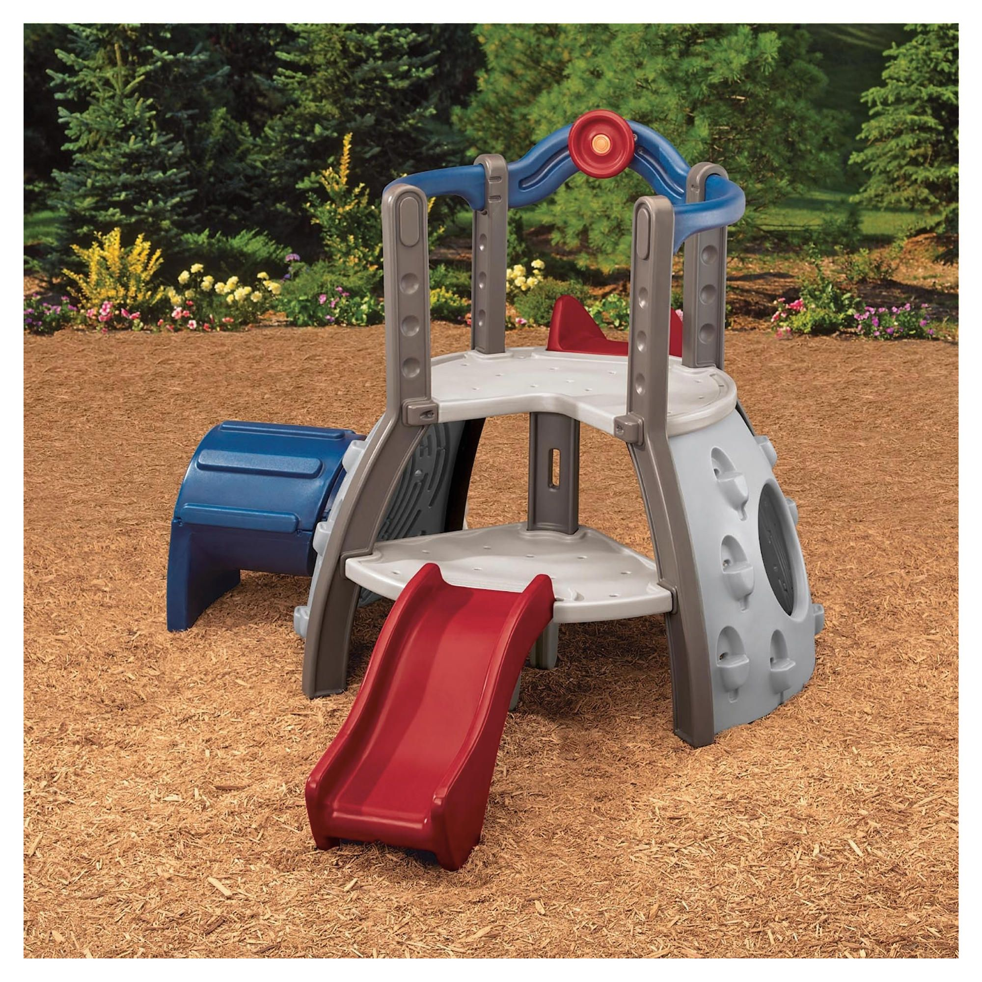 Little Tikes Double Decker Superslide Earth Colours at Tesco Direct