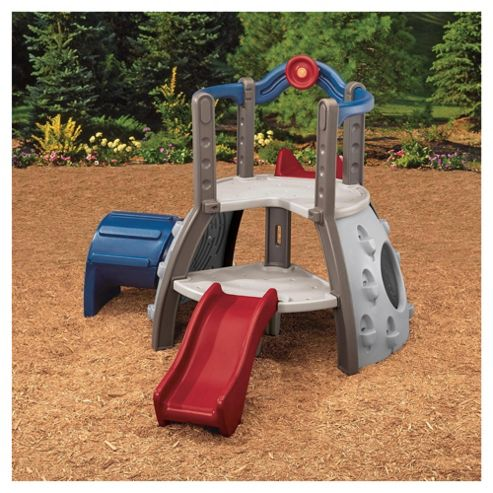 Little Tikes Double Decker Superslide Earth Colours