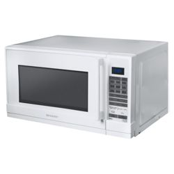 Sharp R658WM 20L White Microwave with Grill
