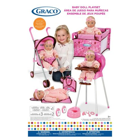 Graco Deluxe Doll Travel Playset