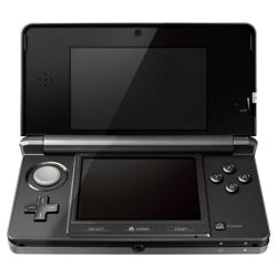 Nintendo 3DS - Cosmos Black