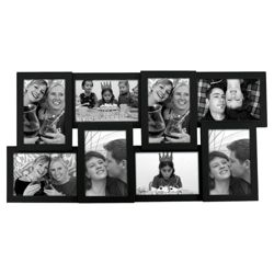 Present Time Photo Frame Layered Collection Wood