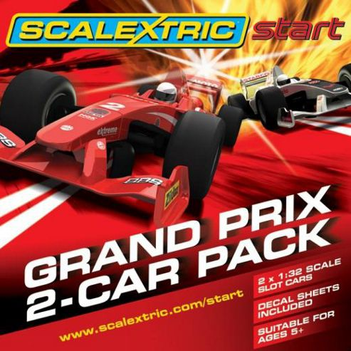 Scalextric Formula 1 Start Grand Prix Twin Pack