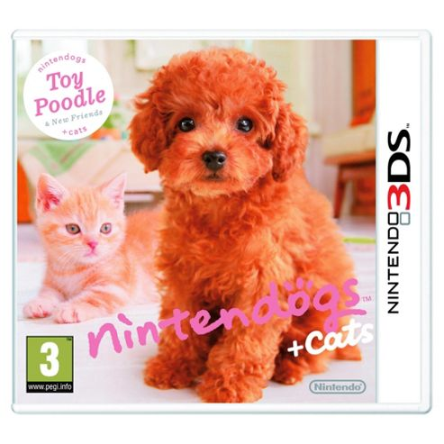 Nintendogs + Cats - Toy Poodle And New Friends (3DS)