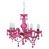 Tesco Lighting Marie Therese Fuschia