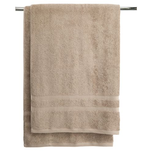 Tesco bath sheet twin pack linen