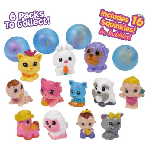 Squinkies 16Pc Bubble Pack Doll