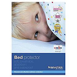 Hippychick Flat Sheet Pram/Crib, White