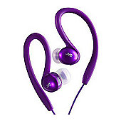 Splash Proof Sports Headphone - Violet