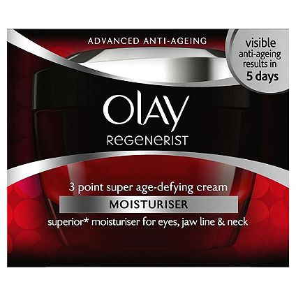 Half priceon selected Olay Skincare