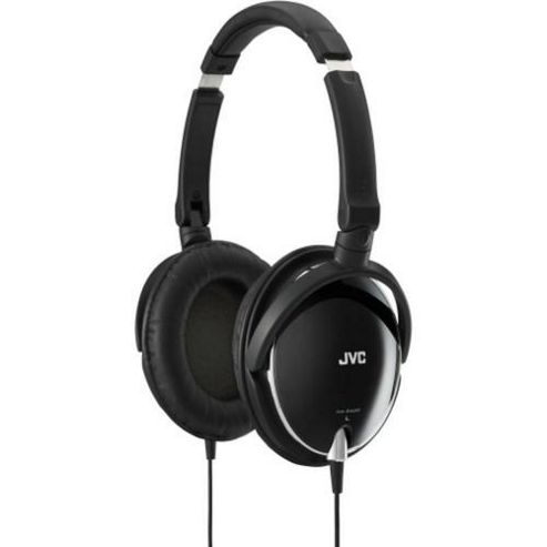 JVC HAS600B High Quality Light Weight Headphones - Black