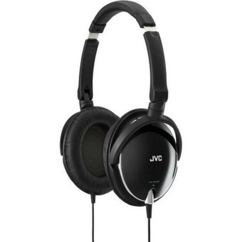 JVC HAS600B High Quality Light Weight Headphones - Black