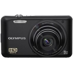 Olympus VG-130 Digital Camera - Black (14MP, 5x Wide Optical Zoom) 3 inch LCD