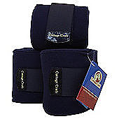 Cottage Craft Fleece Bandages - Navy